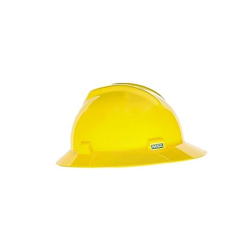 MSA V-Gard Hat Yellow
