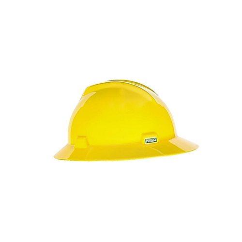 MSA V-Gard Hat Yellow