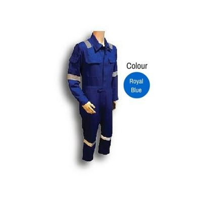 Exclusive Coverall Royal Blue