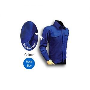 Tanker Welding Jacket Royal Blue