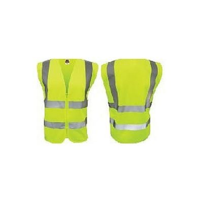 High Visibility Safety Vest Yellow
