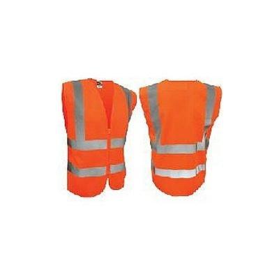 High Visibility Safety Vest Orange