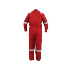 SHMR Working Coverall Red