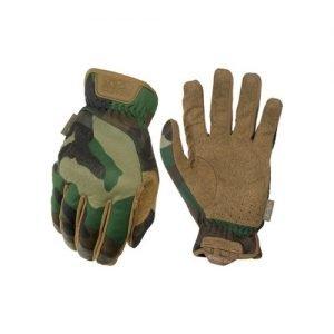 Mechanix Wear FastFit Gloves Woodland Camo