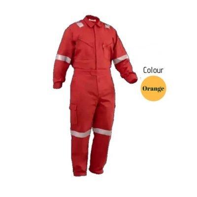 SHMR Fire Retardant Coverall Orange
