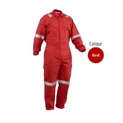 SHMR Fire Retardant Coverall Red