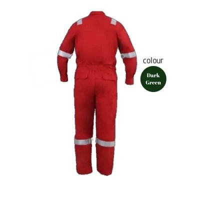 SHMR Fire Retardant Coverall Dark Green
