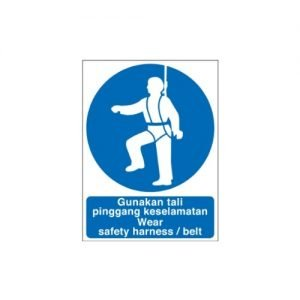Wear Safety Harness/Belt